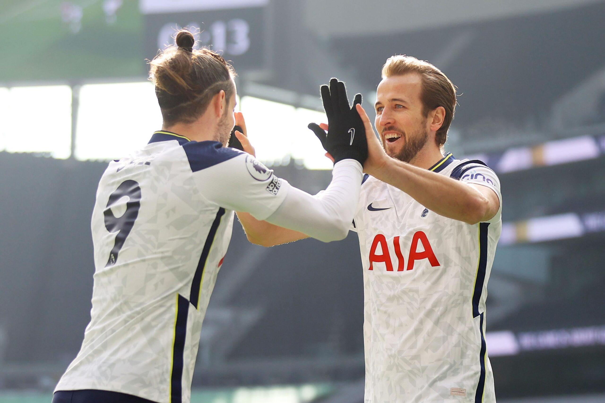 Gareth Bale and Harry Kane
