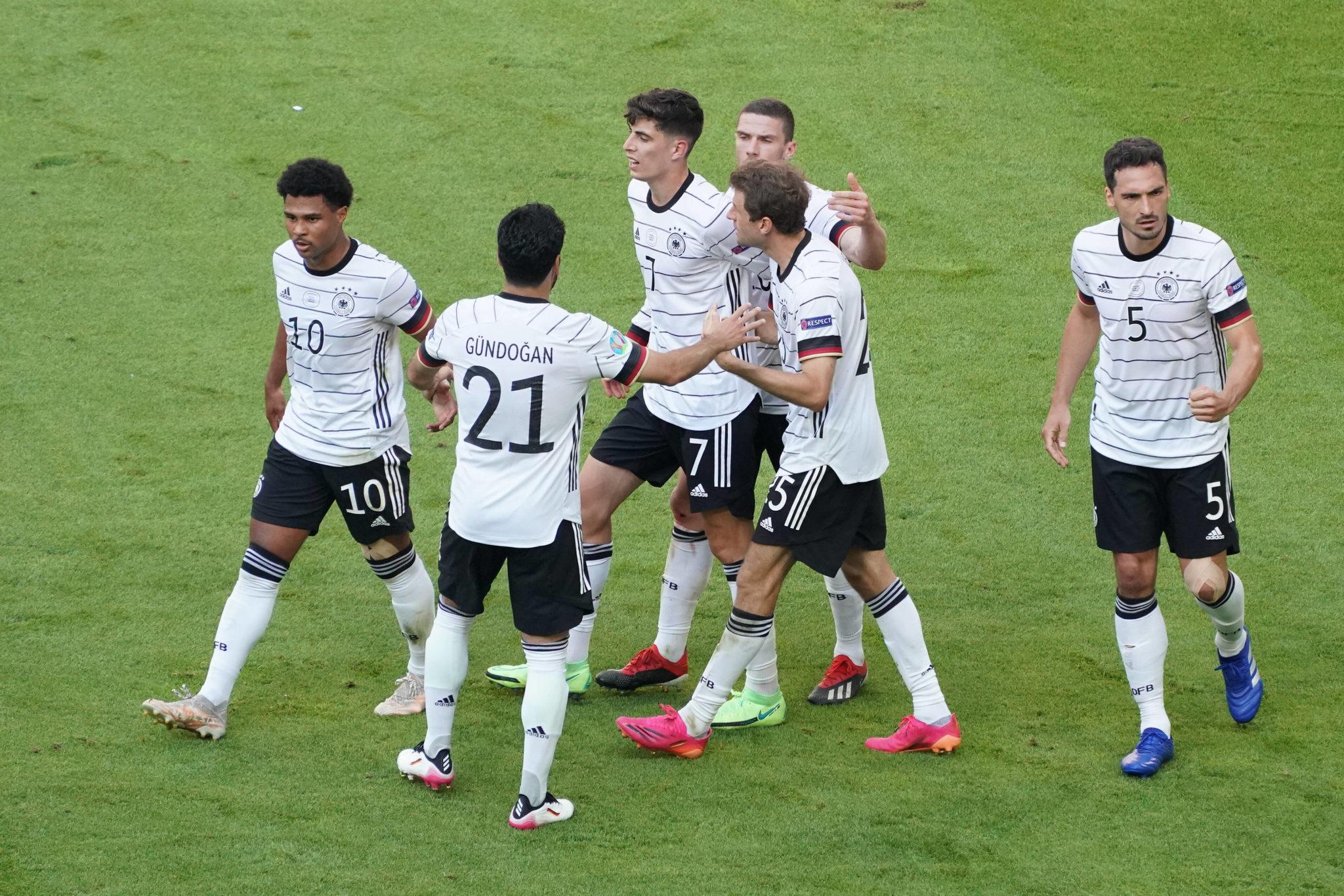 Germany vs Portugal. Euro 2020