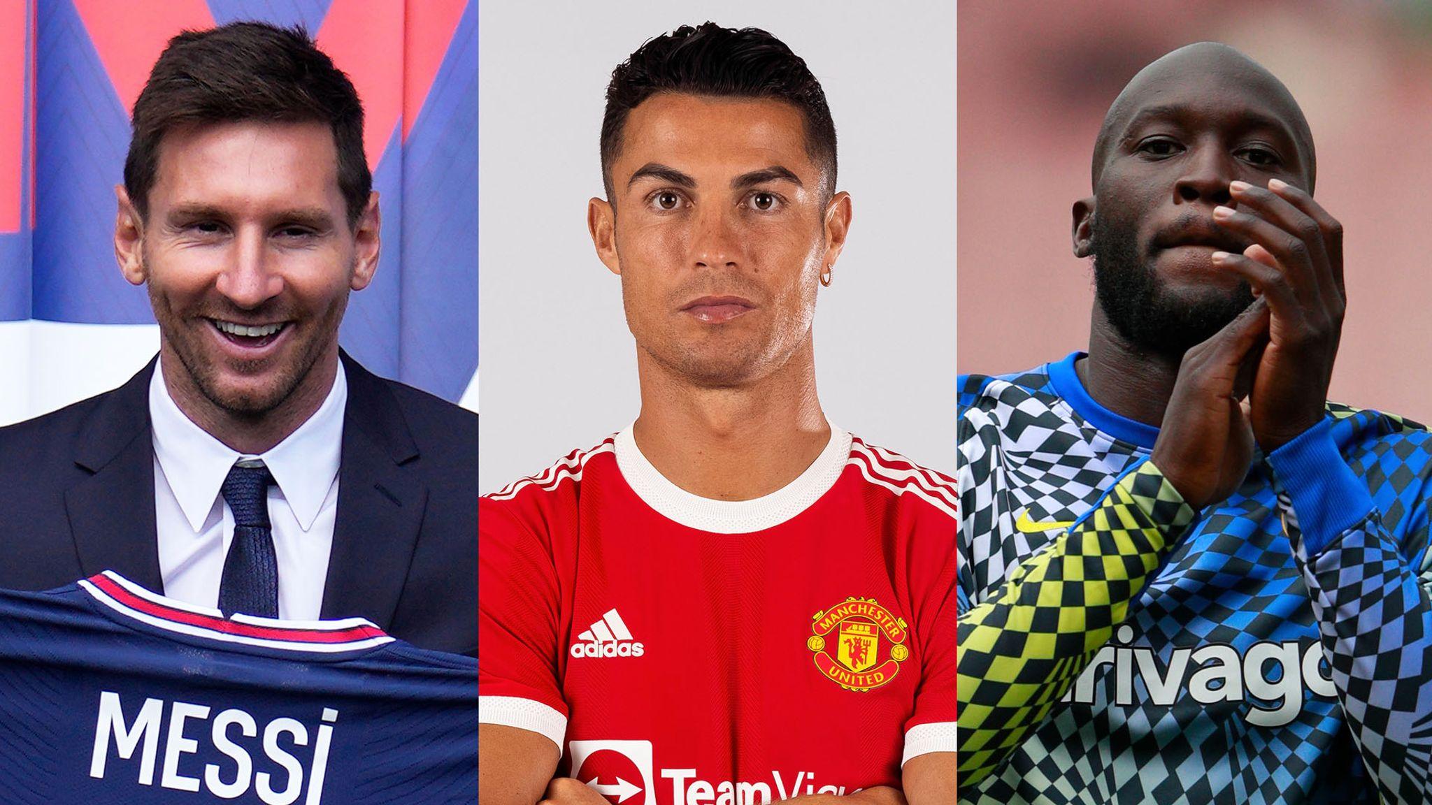 Messi, Ronaldo and Lukaku